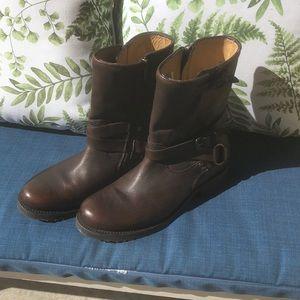 Frye Veronica Criss Cross Short Boots